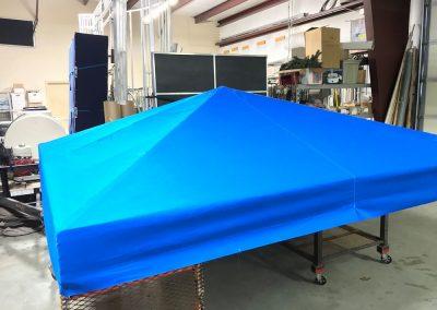 Custom Canvas Cabanas Sunbrella